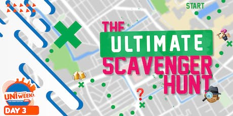 UNIweek Day 3: The Ultimate Scavenger Hunt tickets
