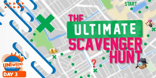 UNIweek Day 3: The Ultimate Scavenger Hunt