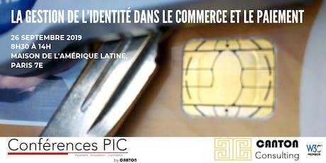 PAIEMENT INNOVATION COMMERCE : L'identité dans les paiements ? billets