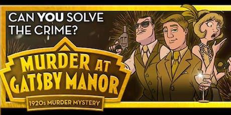 1920's Murder Mystery Event tickets