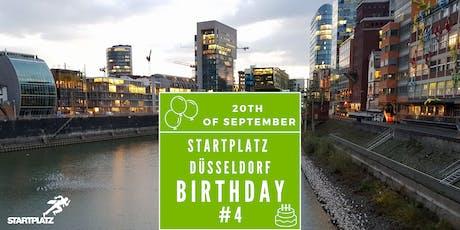 4. Geburtstag STARTPLATZ Düsseldorf Tickets
