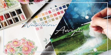 Watercolour/Acrylic Art Jamming | Art Studio Open House tickets