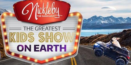 Nickleby the Magician Show Christchurch NZ tickets