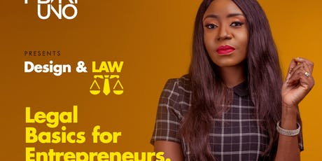 Design and Law: Legal Basics for Entrepreneurs tickets