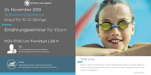 Schwimm- und Ernährungsseminar Frankfurt LSB H 24.11.2019