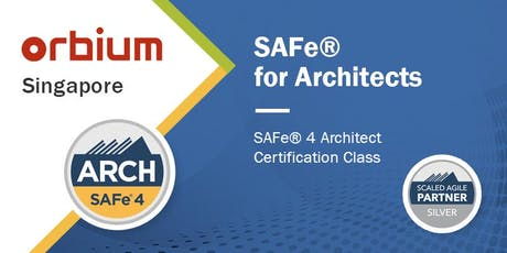 SAFe® for Architects 4.6 Certification Class - Singapore tickets