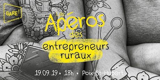 Les Apéros des Entrepreneurs Ruraux - #1 Mystère au Coworking GARE!