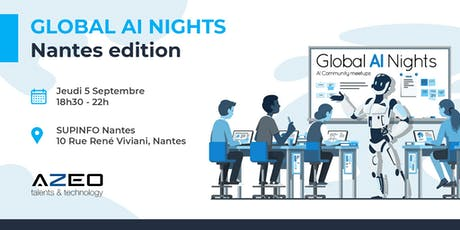 Global AI Nights Nantes by AZEO billets
