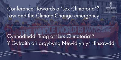 Law and the Climate Change Emergency
