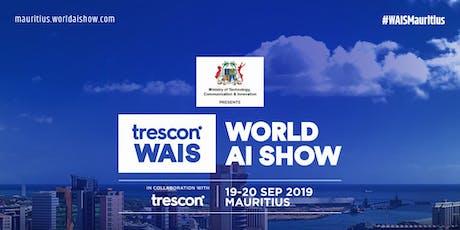 World AI Show - Mauritius 2019 tickets