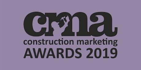 Construction Marketing Awards Gala Dinner 2019 tickets
