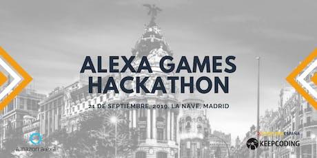 KeepCoding te invita: Alexa Games Hackathon entradas