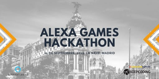 KeepCoding te invita: Alexa Games Hackathon