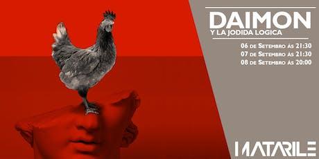 DAIMON Y LA JODIDA LÓGICA de Matarile Teatro na Sala Ártika entradas