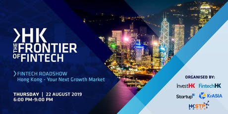 HK: The Frontier of FinTech tickets