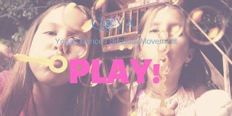 Qoya - Yoga, Dance & Sensual Movement - Play! tickets