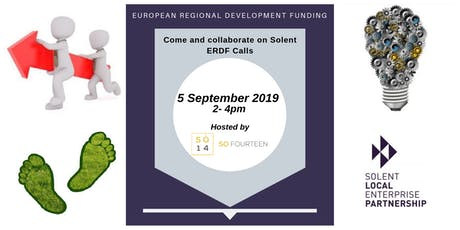 Come and Collaborate on Solent ERDF Calls tickets
