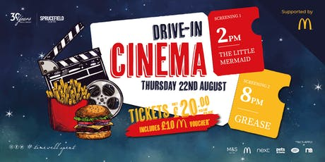 Drive-In Outdoor Cinema @ Sprucefield Shopping Centre tickets