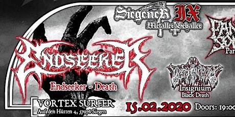 Siegener Metaller Geballer IX - Endseeker + Panzer Squad + Insignium + Soulgrinder Tickets