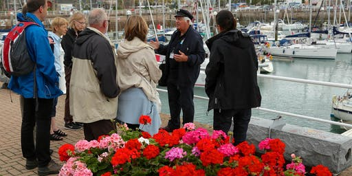 Free Guided walk of St Helier A Harbourmaster's History of St. Helier
