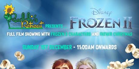 Frozen 2 with Ruddi's Retreat tickets