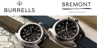 BURRELLS BREMONT EXPERIENCE - TUNBRIDGE WELLS