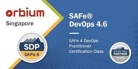 SAFe® 4 DevOps Practitioner Certification (SDP) Scaled Agile - Singapore tickets