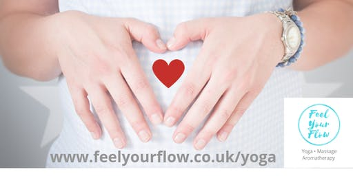 Pregnancy Yoga and Aromatherapy workshop