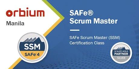 SAFe® Scrum Master 4.6 Certification Class - Manila tickets