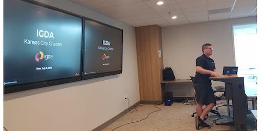 September, 2019, KC International Game Developers Assoc. (IGDA) Meeting