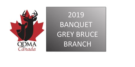 QDMA Grey Bruce Branch Fundraising 2019 Banquet tickets