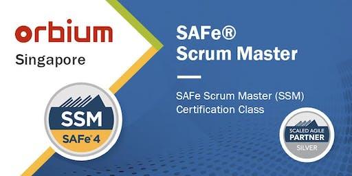 SAFe® Scrum Master 4.6 Certification Class - Singapore