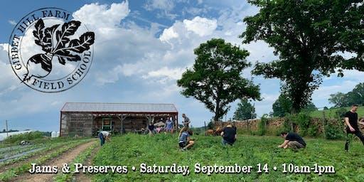 Gibbet Hill Farm Field School •Jams & Preserves