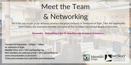 Meet the Team & Networking  tickets