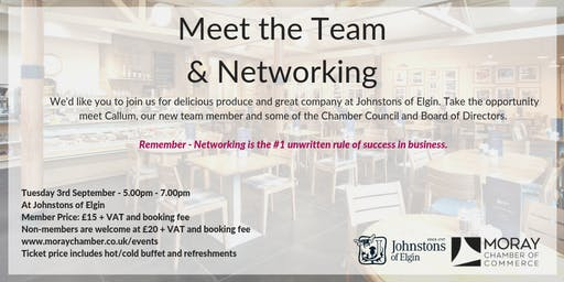 Meet the Team & Networking