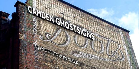 Gin, drugs and shopping - a Camden ghostsigns trail tickets