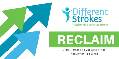 RECLAIM - A free event for younger stroke survivors tickets