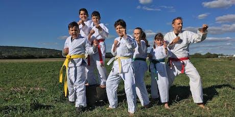 Taekwondo-Naturcamp Tickets