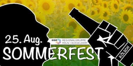Sommerfest GSA Regionalgruppe Köln Düsseldorf Tickets
