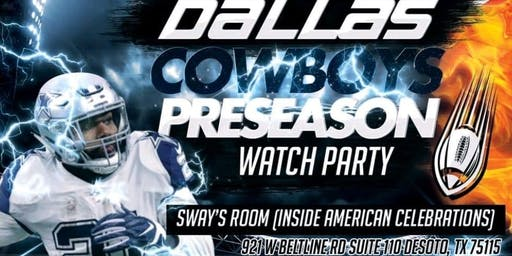 Dallas Cowboys Preseason Watch Party
