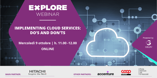 WEBINAR - Implementing cloud services: do's & don'ts