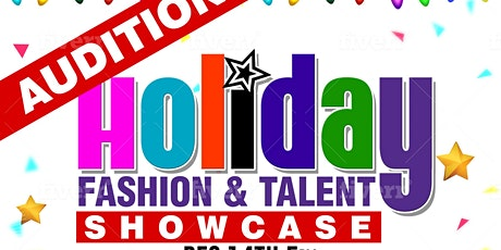 Holiday Fashion & Talent Show Case tickets