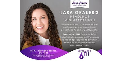 Professional Headshots by Seattle Photographer Lara Grauer