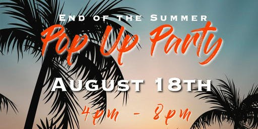 @TheSpot End of Summer Pop Up Party