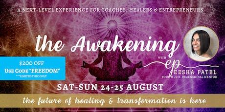 The Awakening with Eesha Patel tickets