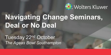 Wolters Kluwer Seminar - Southampton tickets