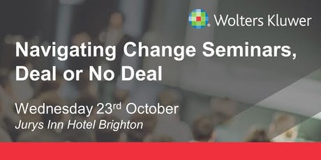 Wolters Kluwer Seminar - Brighton tickets