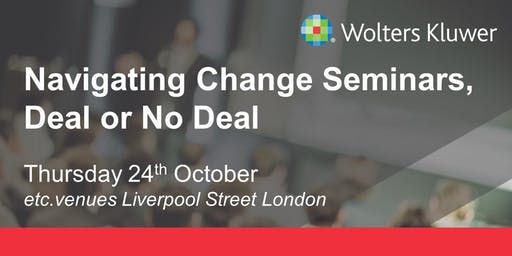 Wolters Kluwer Seminar - London