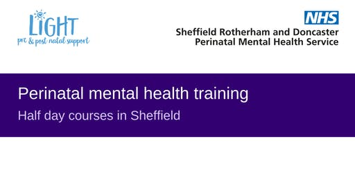 Perinatal mental health training courses in Sheffield