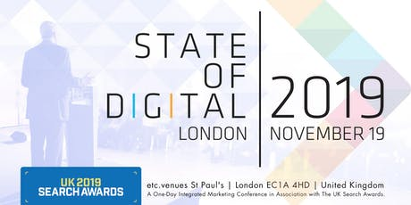 State Of Digital 2019 & UK Search Awards tickets